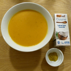 Soupe Courge Coco Curry
