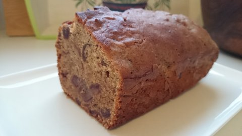 Cake aux dattes et huile essentielle de petit grain bigarade
