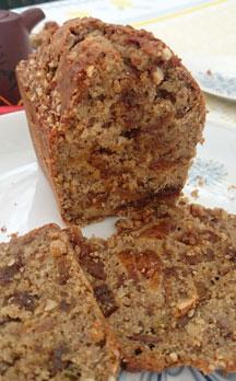 Cake Abricot Lavande Amandes